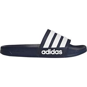 adidas Adilette Shower Slides Men, collegiate navy/footwear white/collegiate navy